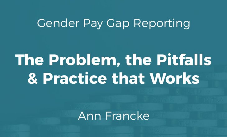 Gender Pay Gap: Problems & Practice (Slides)