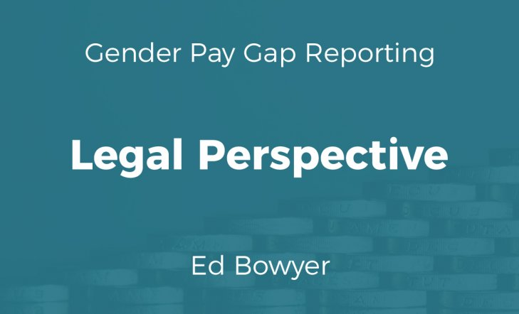 Gender Pay Gap: Legal Perspective (Slides)