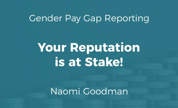 Gender Pay Gap: Building Reputation (Slides)