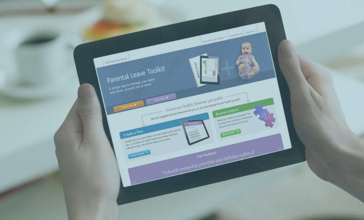Parental Leave Toolkit - A Walk-Through of our Online Solution