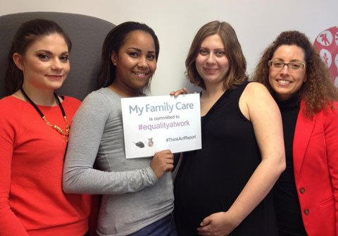 My Family Care is committed to #equalityatwork