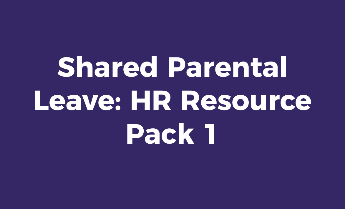 Parental Leave HR Resource Pack 1 – Hr Resource
